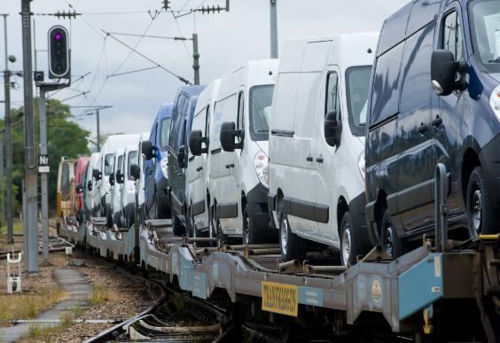 Transport par train de véhicule Gefco