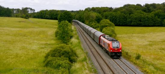 Train en campagne