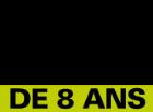 """Logo """" à partir de 8 ans """""""