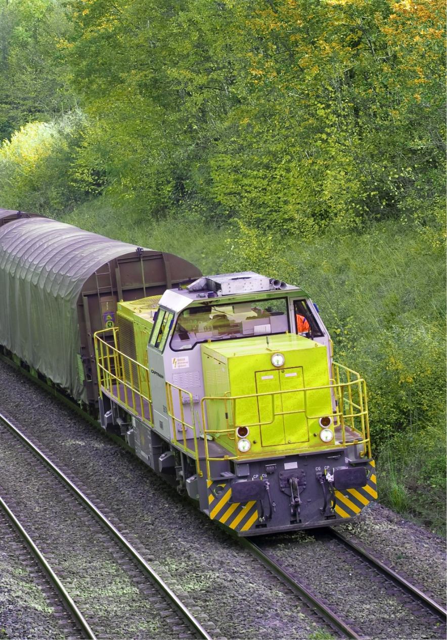 train Captrain vert